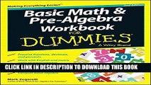 Read Basic Math and Pre-Algebra Workbook For Dummies Ebook