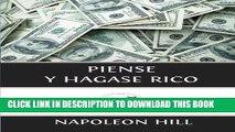 Read Now Piense y Hagase Rico (Spanish Edition) PDF Book