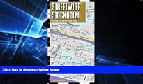 Must Have  Streetwise Stockholm Map - City Center Street Map of Stockholm, Sweden (Streetwise