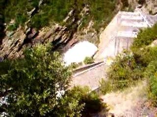 La represa/Le barrage del Chassezac