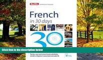 Best Buy Deals  Berlitz French in 30 Days  Best Seller Books Most Wanted