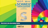 Ebook Best Deals  Laminated Switzerland Map by Borch (English, Spanish, French, Italian and German