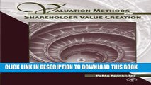 Best Seller Valuation Methods and Shareholder Value Creation Free Read