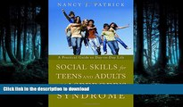 FAVORITE BOOK  Social Skills for Teenagers and Adults with Asperger Syndrome: A Practical Guide