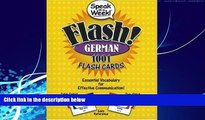 Best Buy Deals  Speak in a Week! Flash! German: 1001 Flash Cards (German and English Edition)