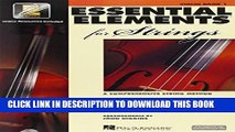 EBOOK] DOWNLOAD Essential Elements for Strings: Book 1 with