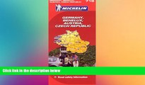 Must Have  Michelin Map Germany Austria Benelux Czech Republic  719 (Maps/Country (Michelin))
