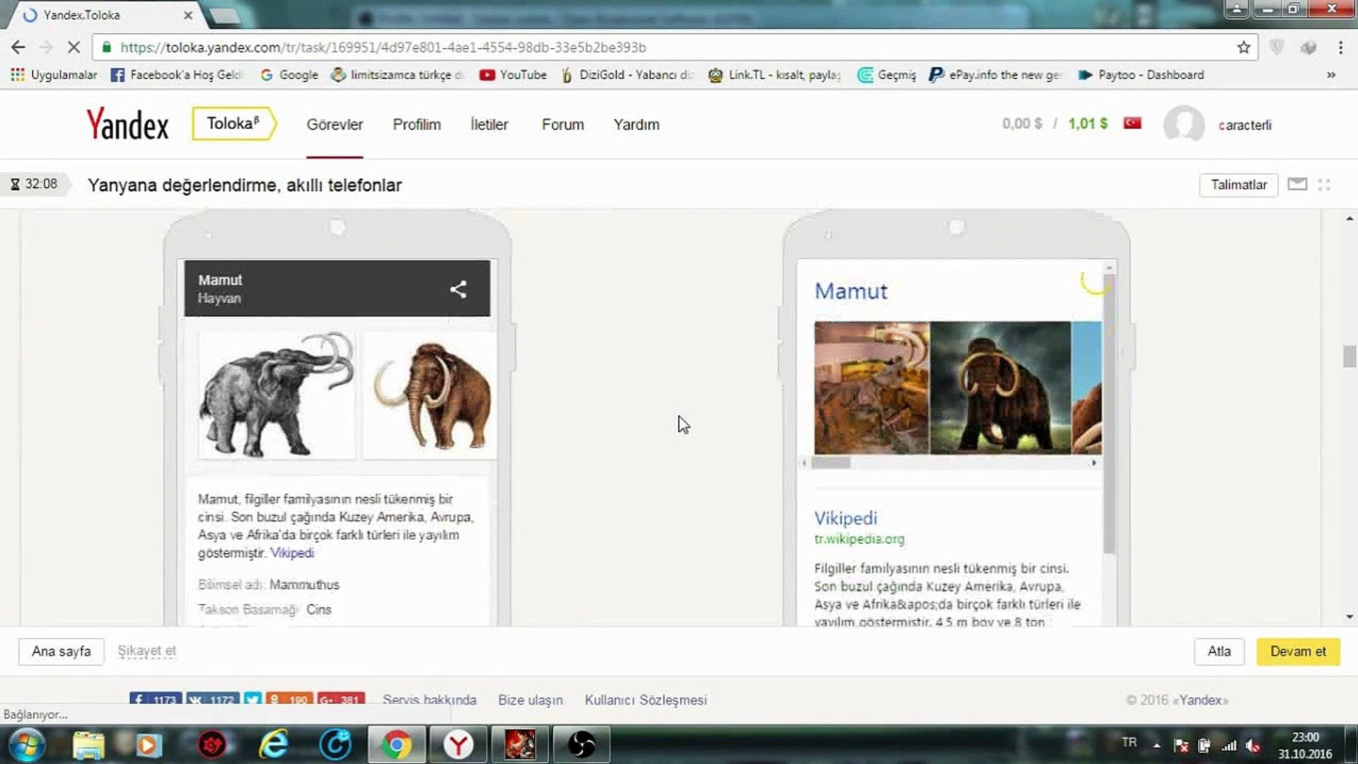 Yandex Toloka İle Günde 15 tl Kazanmak (Ödeme Kanıtlı) İnternetten Para Kazan