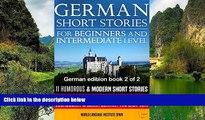 Best Deals Ebook  German Short Stories for Beginners   Intermediate Level: 11 Humorous Short