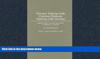 PDF Download Doctors Talking with Patients/Patients Talking with Doctors: Improving Communication