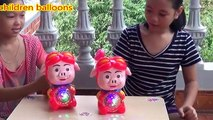 pig shaped lanterns - lanterns fun kid play   lantern can sing