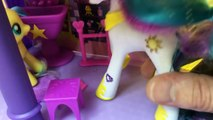 BIG MY LITTLE PONY CANTERLOT CASTLE House Tour with Spike & Fluttershy part2