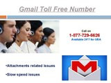Gmail Toll Free Number 1-877-729-6626 for block unwanted stuff on Gmail