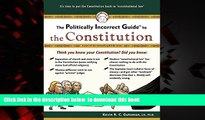 Read book  The Politically Incorrect Guide to the Constitution (Politically Incorrect Guides)