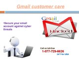 Gmail not working dial 1-877-729-6626 Gmail customer care number