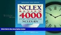 Pdf Online   NCLEX® Review 4000: Study Software for NCLEX-RN® (Individual Version) (NCLEX 4000)