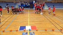 Concours FLASHMOB UNSS Championnat du monde de HANDBALL 2017 Section sportive Handball AS d'Objat
