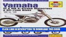 Read Now Yamaha YZ   WR 4-Stroke Motocross   Off-road Bikes,  98- 08 (Motorcycle Repair Manual)