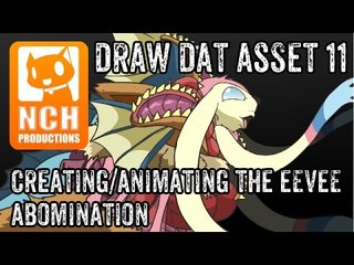 Draw Dat Asset: Creating/Animating the Eevee abomination