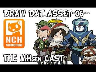Draw Dat Asset: Character Drawing, MHgen cast