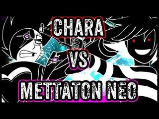 Undertale shots: Chara Vs Mettaton NEO