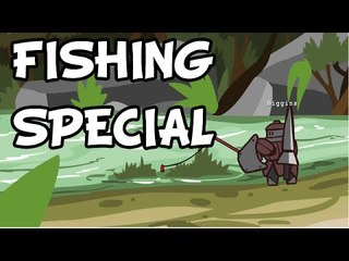 MONSTERS of monster hunter: Fishing Special