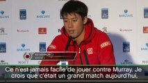 """Masters - Nishikori : """"Un grand match pour nous deux"""""""