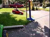 2 Year Old Doing Little Car Drifting - Awesome The Best Fun