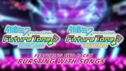 Hatsune Miku Project DIVA Future Tone Teaser de Hatsune Miku : Project DIVA Future Tone