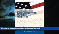 Read book  An Introduction to the American Legal System, Government, and Constitution (Aspen