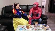 FROZEN ELSA vs SPIDERMAN! SNAKE ATTACK IN TOILET PRANK! Funny Superhero Movie in Real Life