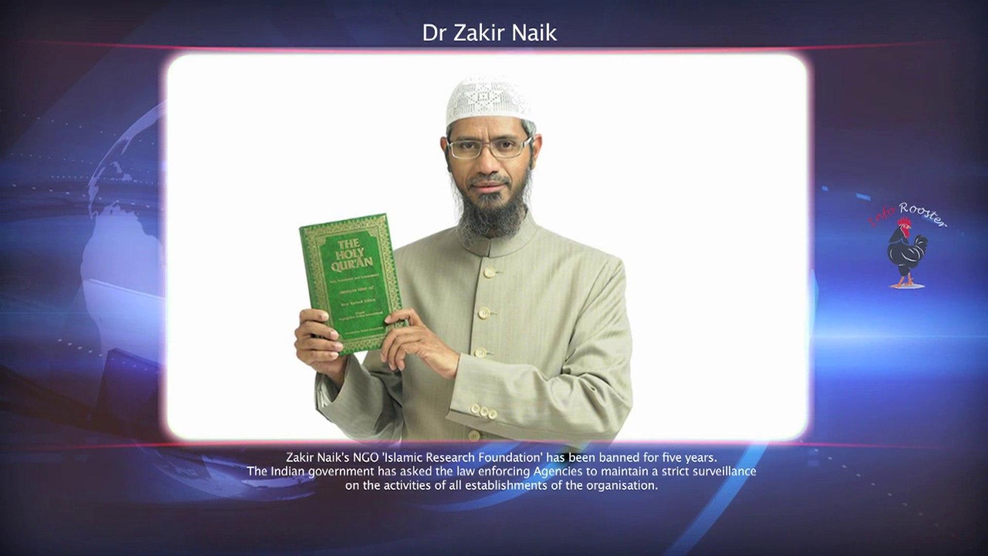 Dr. Zakir Naik NGOs Banned