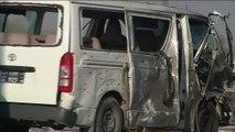 قتلى وجرحى في هجوم انتحاري على حافلة رسمية بأفغانستان