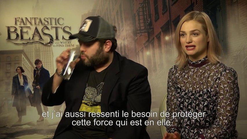 Dan Fogler & Alison Sudol : interview des révélations des Animaux Fantastiques