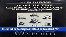 Download Jews in the German Economy: The German-Jewish Economic Elite 1820-1935 Ebook Online