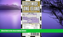 Deals in Books  Streetwise Long Island Map - Laminated Regional Road Map of Long Island, New York
