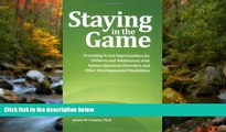 Enjoyed Read Staying in the Game: Providing Social Opportunities for Children and Adolescents with