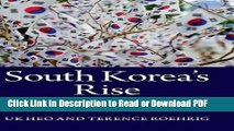 PDF South Korea s Rise: Economic Development, Power, and Foreign Relations Book Online