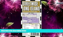 Buy NOW  Streetwise Long Island Map - Laminated Regional Road Map of Long Island, New York  READ