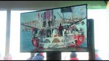 Départ des skippers : En direct sur des écrans géants