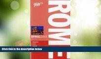 Big Deals  AAA Spiral Rome (AAA Spiral Guides: Rome)  Full Read Best Seller
