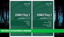 FAVORITE BOOK  USMLE Step 3 Lecture Notes Bundle FULL ONLINE