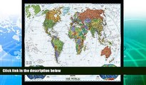 Buy NOW  World Decorator [Enlarged and Laminated] (National Geographic Reference Map)  Premium
