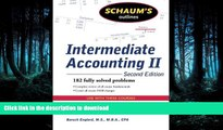 READ BOOK  Schaum s Outline of Intermediate Accounting II, 2ed (Schaum s Outlines) FULL ONLINE