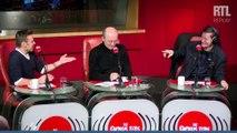 Jeanfi Janssens explique à Francis Huster comment se déroule Les Grosses Têtes