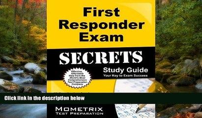 Fresh eBook First Responder Exam Secrets Study Guide: FR Test Review for the First Responder Exam