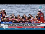 PH Dragon boat team to compete in 2nd International Dragon Boat Federation World Cup in China