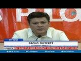Davao City Vice Mayor Paolo Duterte, naglabas ng sama ng loob kay Sen. Trillanes