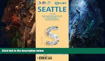 Buy NOW  Laminated Seattle City Map by Borch Maps (English, Spanish, French, Italian and German