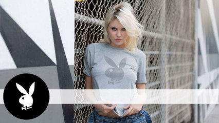 John Varvatos Launches a Playboy Tee, and Playmate Kayslee Collins Models It